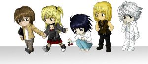 Death Note Chibis by TrixiCat