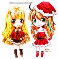 Xmas for Kleine by Kuroeno