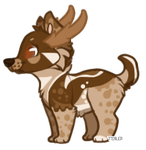 Toffee Moose - Custom design for horselover0726 by wesleydog