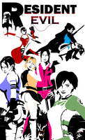RESIDENT EVIL BABES by reeves83