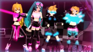[MMD] The Team by Party-P