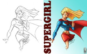 Color - Supergirl by Juggertha