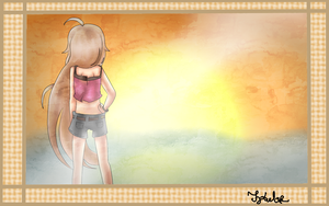 IA -Looking To Sky- AndreehXD Request by sXBlackWingsXs