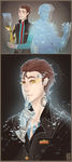 :TFTBL: Rhys and Handsome Jack by BlackMayo