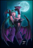 Morrigan by diabolumberto