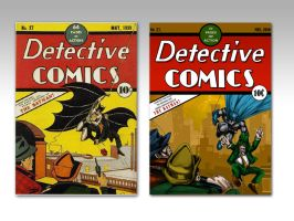 ReCovered Detective Comics by daawg