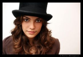 Valentina with top hat by colpewole