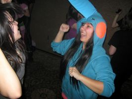 Party Boying a mudkip by WhoeMelk13
