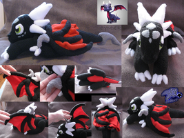 Young Cynder Plush by SetariPlush