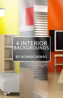 Interior Backgrounds 1 by konnichiwas