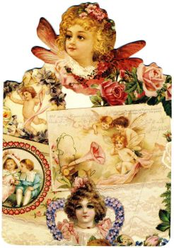 Vintage card stock by rustymermaid-stock