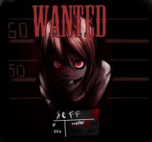 Jeff the killer: WANTED by bowserotta21