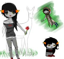 Solana Floret - Fantroll by AdenChan