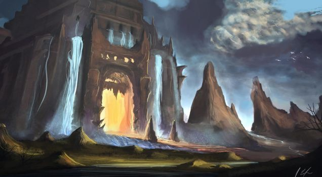 Quicky Temple by JonathanDufresne