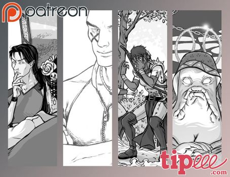 Preview Patreon.Tipeee October 2016 by Ludimie