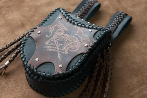 leather bag by ereglin