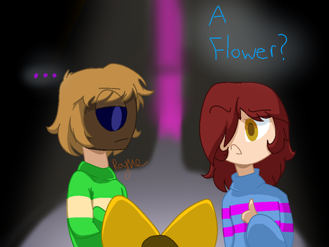 A Flower? Redraw by CanadianGirl001