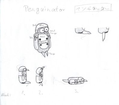 Penguinator Concept Art by ShadowNCS