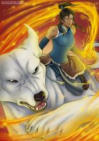The Legend of Korra by Tenaga