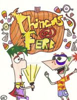 Phineas and Ferb by 3HLS