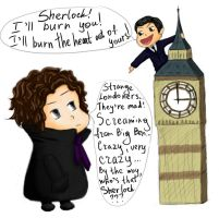 Sherlock And Moriarty by zonaZvuka