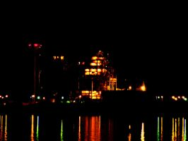 Power Station at Night 2 by AlexAdrian2099