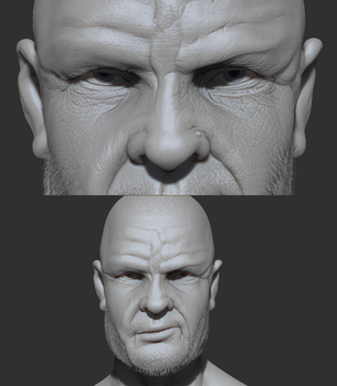 Portrait - Quick Sculpt by Jeordanis