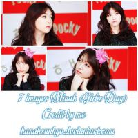 7 images Minah (Girl's Day) Photopack-by Hanah by hanahsunhyo