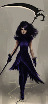 The Reaper - The Second Attempt by fireillisa