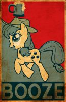 Applejack BOOZE by Fr3zo