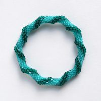 Roll On Beaded Turquoise Bracelet by scitalisss