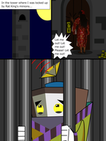 I'm locked up in a tower as Apetrully call help by Magic-Kristina-KW