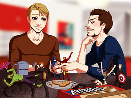Superhusbands / Stony - Actionfigures by Gabbi