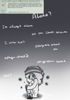 sally Q: 3 none wants me and i don't care by Ask-Olive-And-Oliver