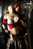 Never enough Leliana by cosplayerotica