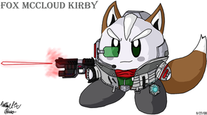 Kirby - Fox McCloud by BlazingGanondorf