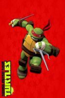 TMNT:: iPhone/ipod touch wallpaper: Raph by Culinary-Alchemist