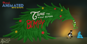 HAMR - Twas The Night Before Bumpy Card by Hewylewis