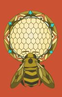 The Honey Bee by disalvatron