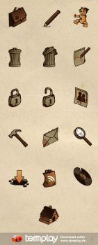Ramshackle Icon Set by templay-team