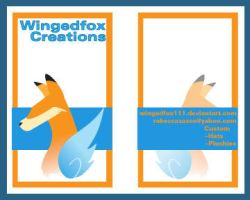 Business Card by wingedfox111
