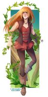 Commission - Flora by Apophis Saga by Miss-Pannacotta