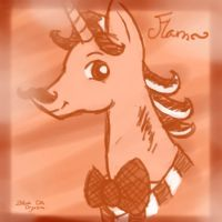 Flam~ Epic Pink and Red Tone by vanilla-button
