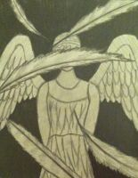 Weeping angel by TacoDestroyerAvenger