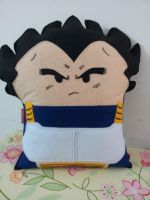 Handmade Anime Dragon Ball Z Vegeta Plush Pillow by RbitencourtUSA