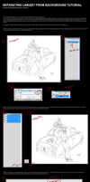Coloring lineart tutorial by Yon-kitty