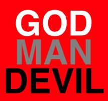 God Man Devil by molecularchaos