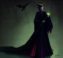 Maleficent by MightyGodOfThunder