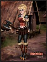 Astrid from HTTYD 2 by kharis-art