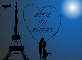 Love in Paris by sumangal16